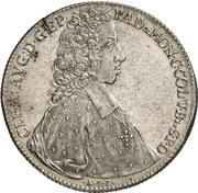 1 Thaler - Clemens August von Bayern – obverse