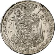 1 Thaler - Clemens August von Bayern – reverse