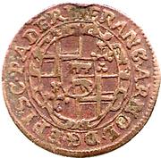 2 Pfennig - Franz Arnold von Metternich – obverse