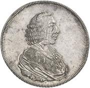1 Thaler - Wilhelm Anton von der Asseburg – obverse