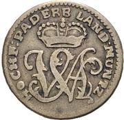 6 Pfennig - Wilhelm Anton von Asseburg – obverse