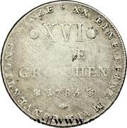 16 Gute Groschen - Friedrich Wilhelm von Westphalen – reverse