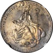 ⅔ Thaler - Friedrich Wilhelm von Westphalen – reverse