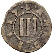 3 Pfennig (Domkapitel) – reverse
