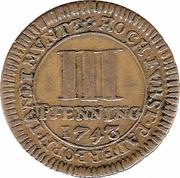 3 Pfenning - Clemens August – reverse
