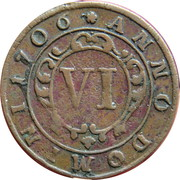 6 Pfennig - Franz Arnold von Metternich – reverse