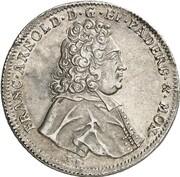 1 Thaler - Franz Arnold von Metternich – obverse