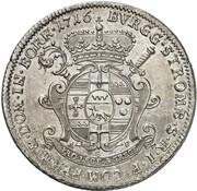 1 Thaler - Franz Arnold von Metternich – reverse