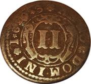 2 Pfennig - Hermann Werner von Metternich – reverse