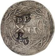 12 Pfennig (Präsenzzeichen) – reverse
