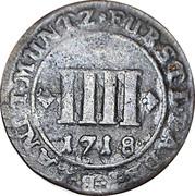 4 Pfennig - Franz Arnold von Metternich – reverse