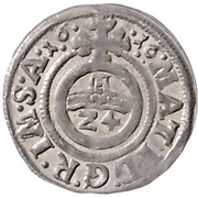 1 Groschen - Theodor von Fürstenberg – reverse