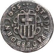 12 Pfennig – obverse