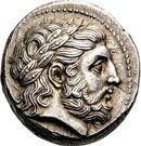 Tetradrachm - Philip II – obverse