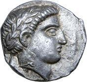 Tetradrachm - Patraos (Astibos or Damastion) – obverse