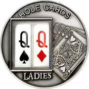 1 Dollar (Hole Cards: Ladies ♤♢) – reverse