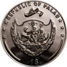 1 Dollar (Dealer Button) – obverse