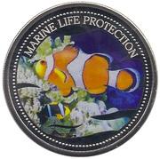 1 Dollar (Clownfish) – reverse