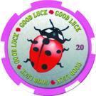 1 Dollar (Ladybug) – reverse