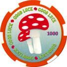 1 Dollar (Toadstool) – reverse