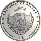 1 Dollar (Nautilus) – obverse
