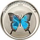 1 Dollar (Blue Butterfly) – reverse