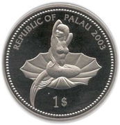 1 Dollar (Killer Whale) – obverse