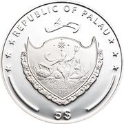 5 Dollars (Biberkopf) -  obverse