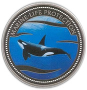 1 Dollar (Killer Whale) – reverse