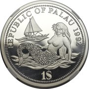 1 Dollar (Year of Marine Life Protection - Essai) – obverse