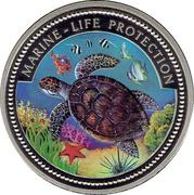 1 Dollar (Turtle) – reverse