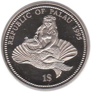 1 Dollar (Sea Horse) – obverse