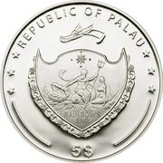 5 Dollars (Pamir) -  obverse