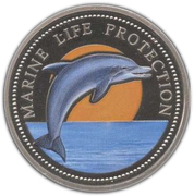 1 Dollar (Bottle-Nose Dolphin) – reverse