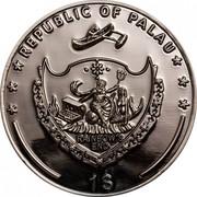 1 Dollar (Dealer Button: A♧) -  obverse