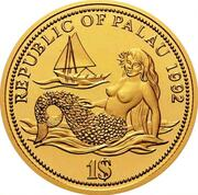 1 Dollar (Year of Marine Life Protection - Gold Essai) – obverse