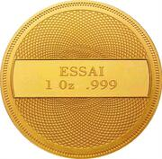 1 Dollar (Year of Marine Life Protection - Gold Essai) – reverse