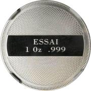 1 Dollar (Year of Marine Life Protection - Platinum Essai) – reverse