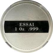 1 Dollar (Ocean Scene - Platinum Essai) – reverse