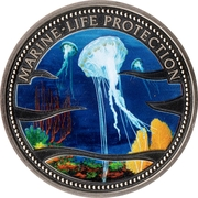 1 Dollar (Jellyfish) – reverse