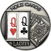1 Dollar (Hole Cards: Ladies ♥♧) – reverse
