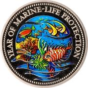 1 Dollar (Year of Marine Life Protection) – reverse