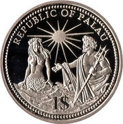 1 Dollar (Independence) – obverse