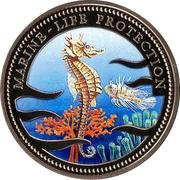 1 Dollar (Sea Horse) – reverse