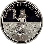1 Dollar (Sea Turtle) – obverse