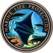 1 Dollar (Manta Ray) – reverse