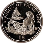 1 Dollar (Shark) – obverse