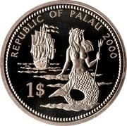 1 Dollar (Lionfish & Parrotfish) – obverse