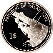 1 Dollar (Jellyfish) – obverse