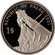 1 Dollar (Moorish Idol) – obverse